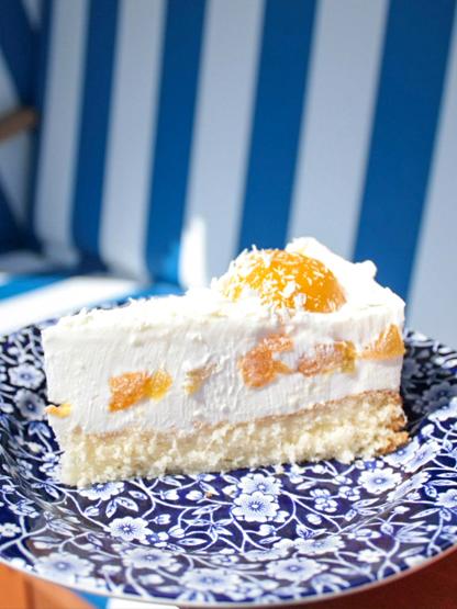 Föhr Insel Café Klein Helgoland leckerste Kuchen