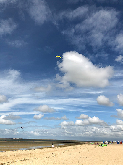 Kiten Drachen Surfen Insel Föhr Surfspots