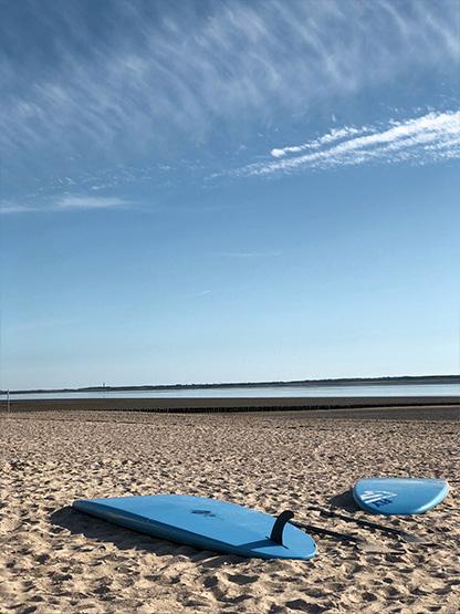 Kiten Stand Up Paddling schönster Strand Sommer Urlaub genießen