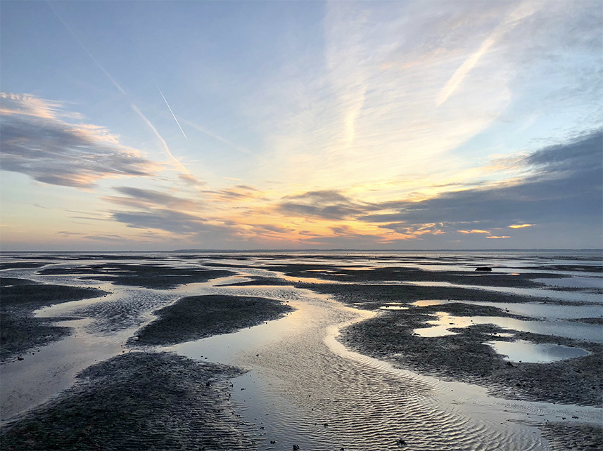 Föhr schönste Insel Sonnenuntergang Föhr