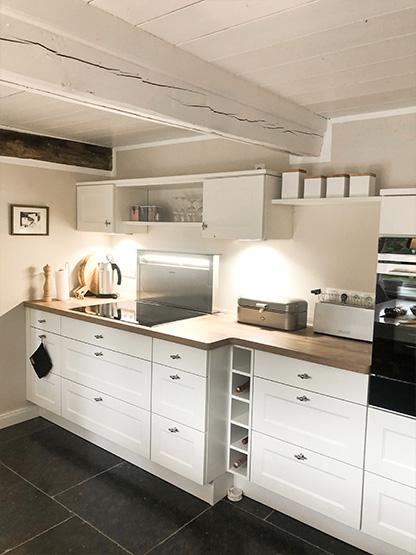 Küche mit kompletter Ausstattung Reethüs 1638