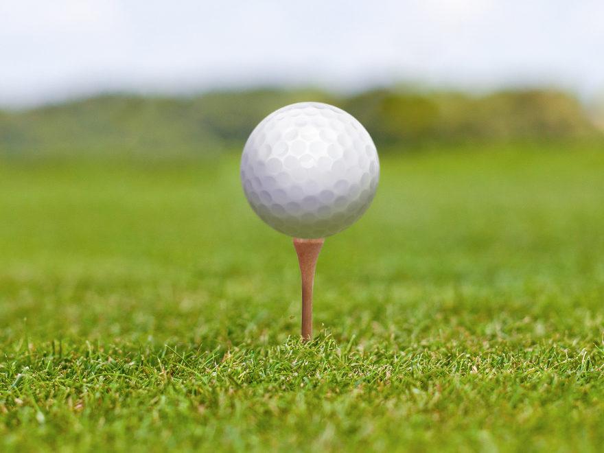 Golf Club Föhr Abschlagen auf einem der schönsten Golfplätze Norddeutschlands mit Nordseeflair