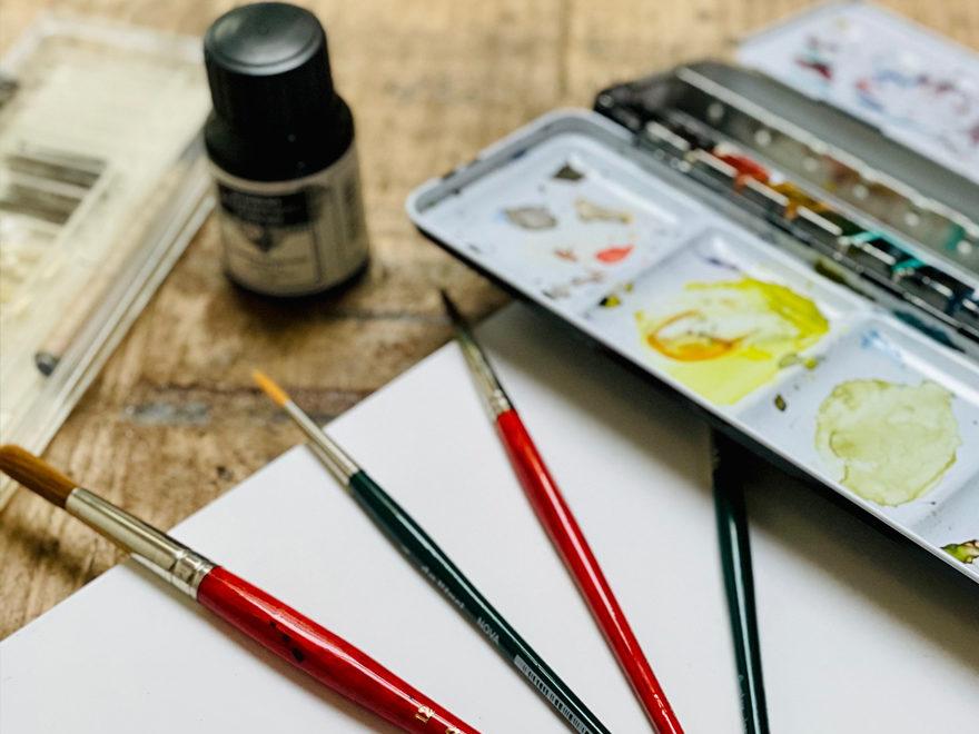 Viele Künstler arbeiten in offenen Ateliers auf Föhr